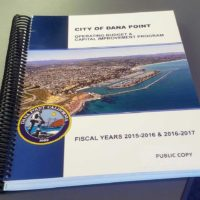 Dana Point City Staff Proposes Budget Cuts